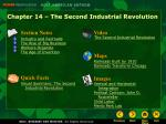 Chapter 14 – The Second Industrial Revolution