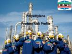 Polyethylene Product Risk Profile