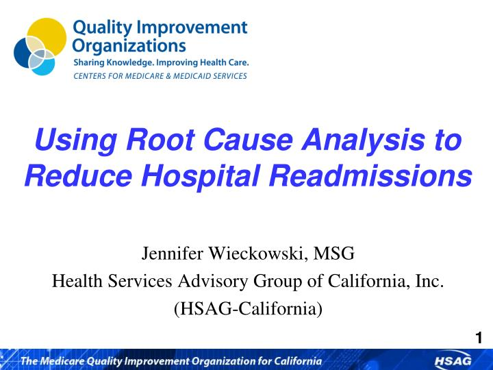 using root cause analysis to reduce hospital readmissions n.