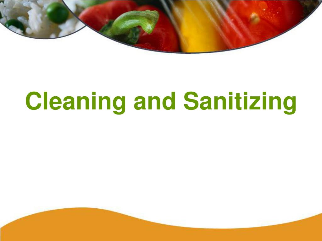 cleaning and sanitizing l.
