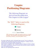 Umpire Positioning Diagrams