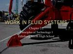 Work in Fluid Systems