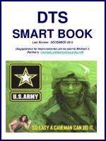 DTS SMART BOOK Last Review: DECEMBER 2013 (Suggestions for improvements can be sent to Michael J. Danberry michael.j.