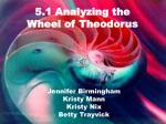 5.1 Analyzing the Wheel of Theodorus