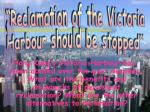 """Reclamation of the Victoria"