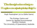 Challenges for marine conservation planning
