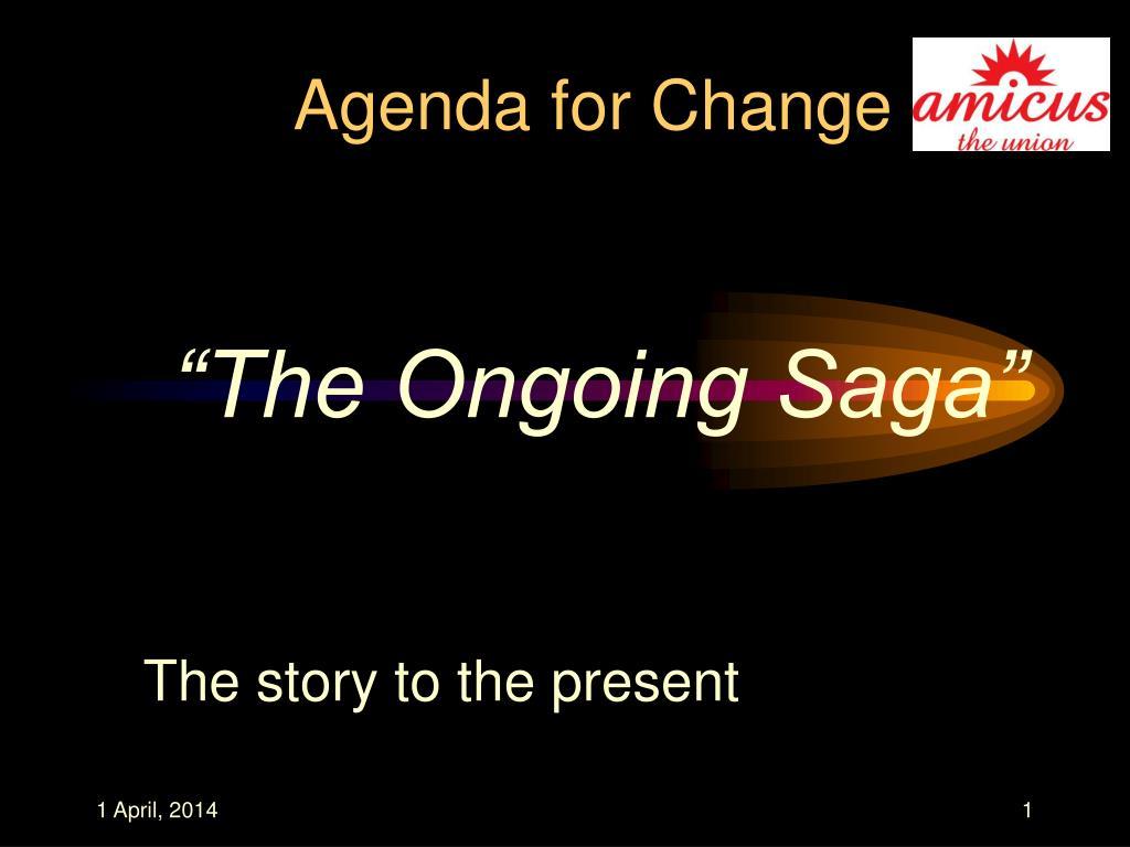 agenda for change l.