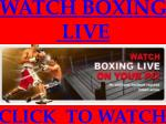 Live Hopkins vs Pascal live stream Sopcast Video Link||Live