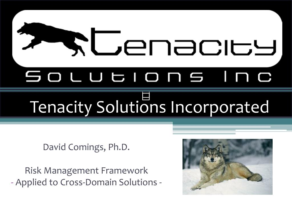 tenacity solutions incorporated l.