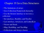 Chapter 19 Java Data Structures