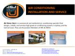 J&J Metro West - Air Conditioning Installation and Service