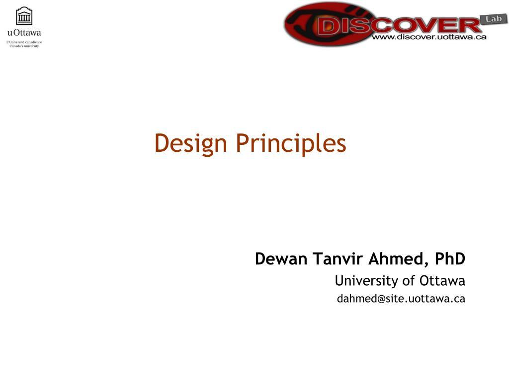 design principles l.