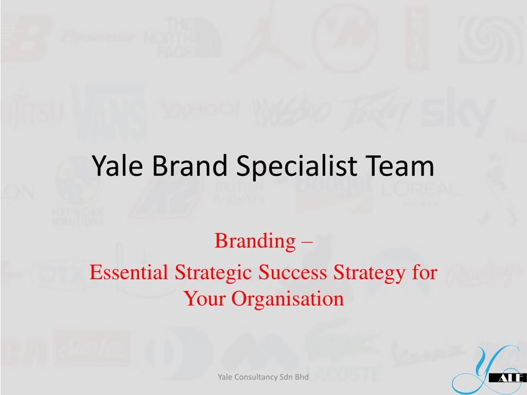 yale brand specialist team l.