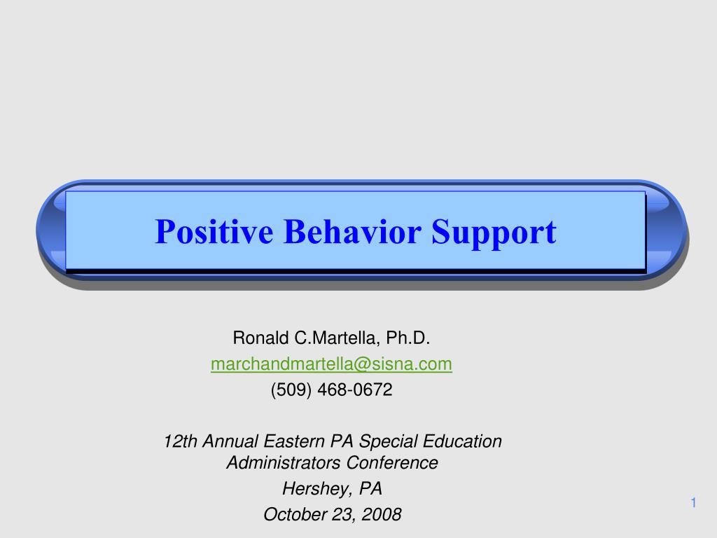 positive behavior support l.