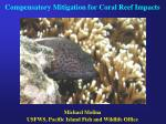 Compensatory Mitigation for Coral Reef Impacts
