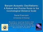 Baryon Acoustic Oscillations:  A Robust and Precise Route to the Cosmological Distance Scale