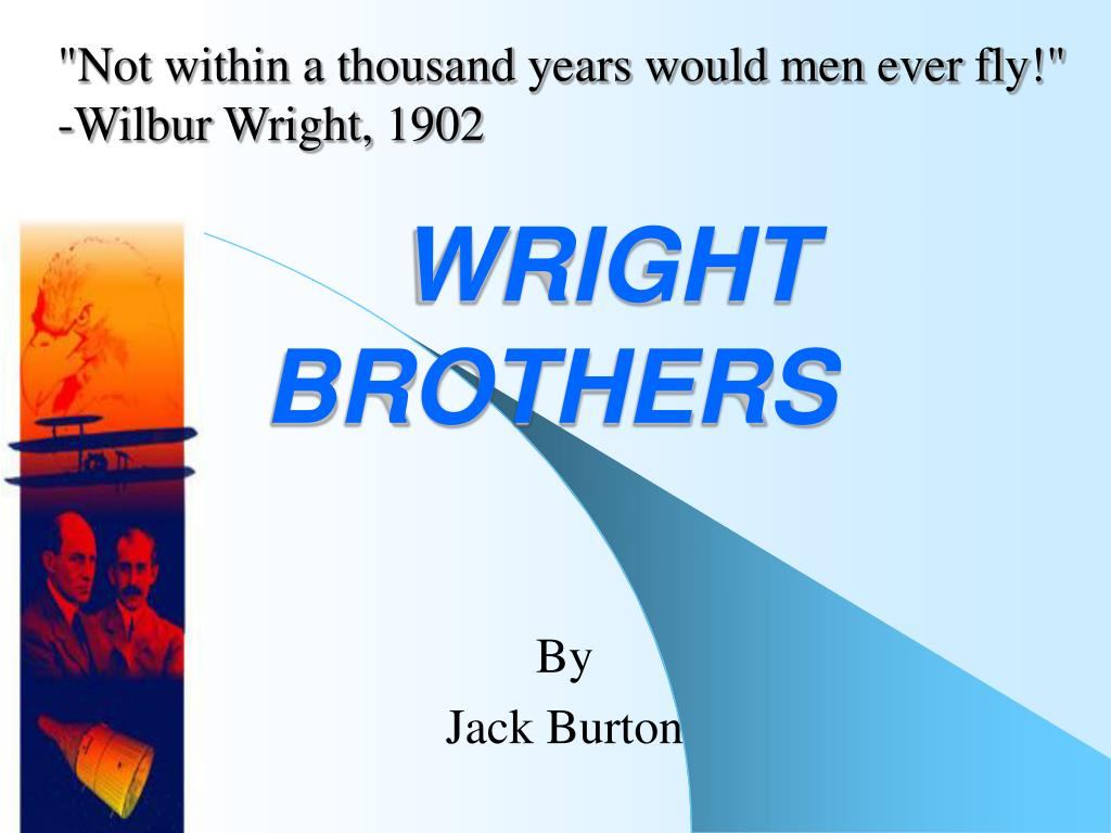 wright brothers l.