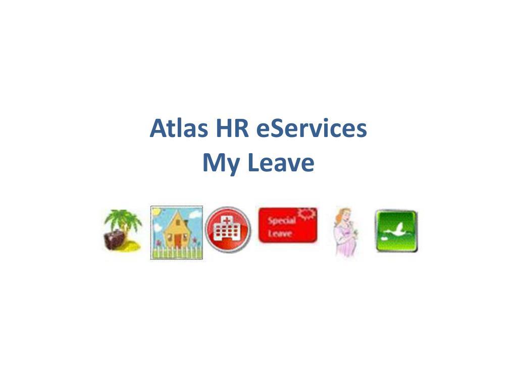 atlas hr eservices my leave l.