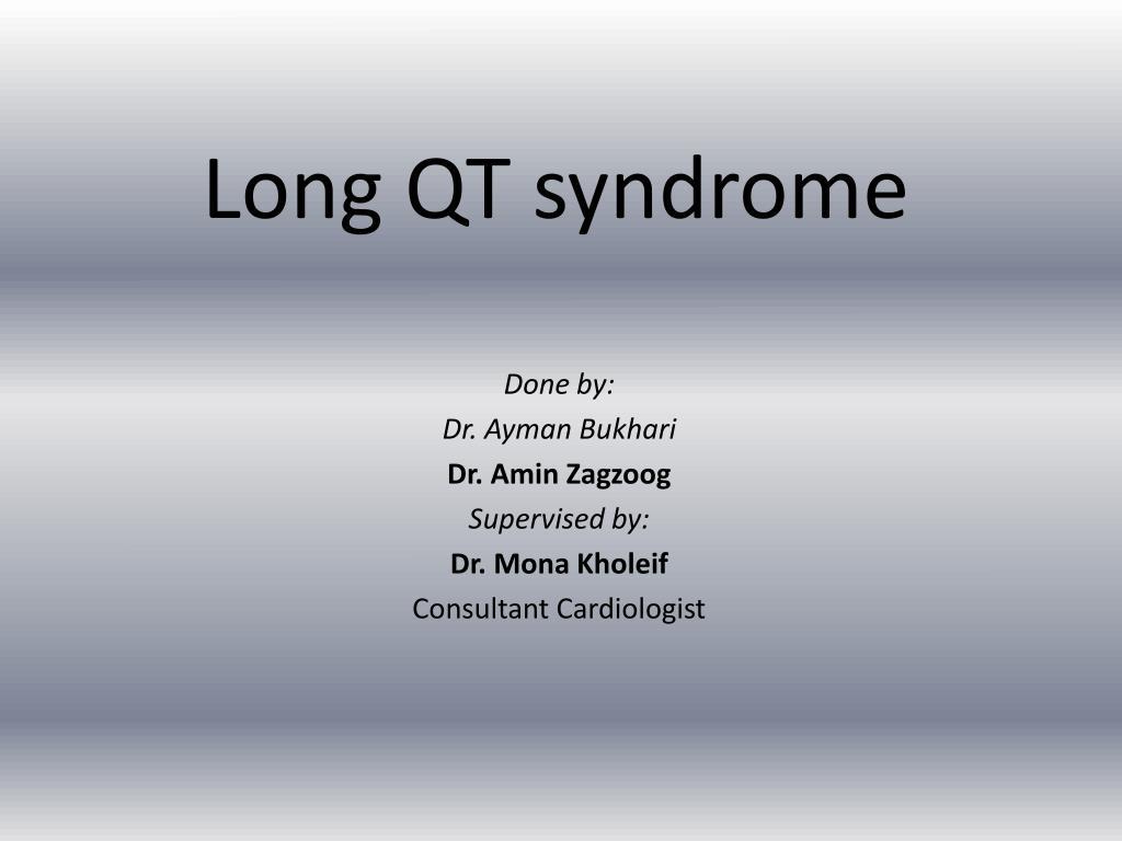 long qt syndrome l.