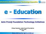 Electronics and Information Technology Exposition