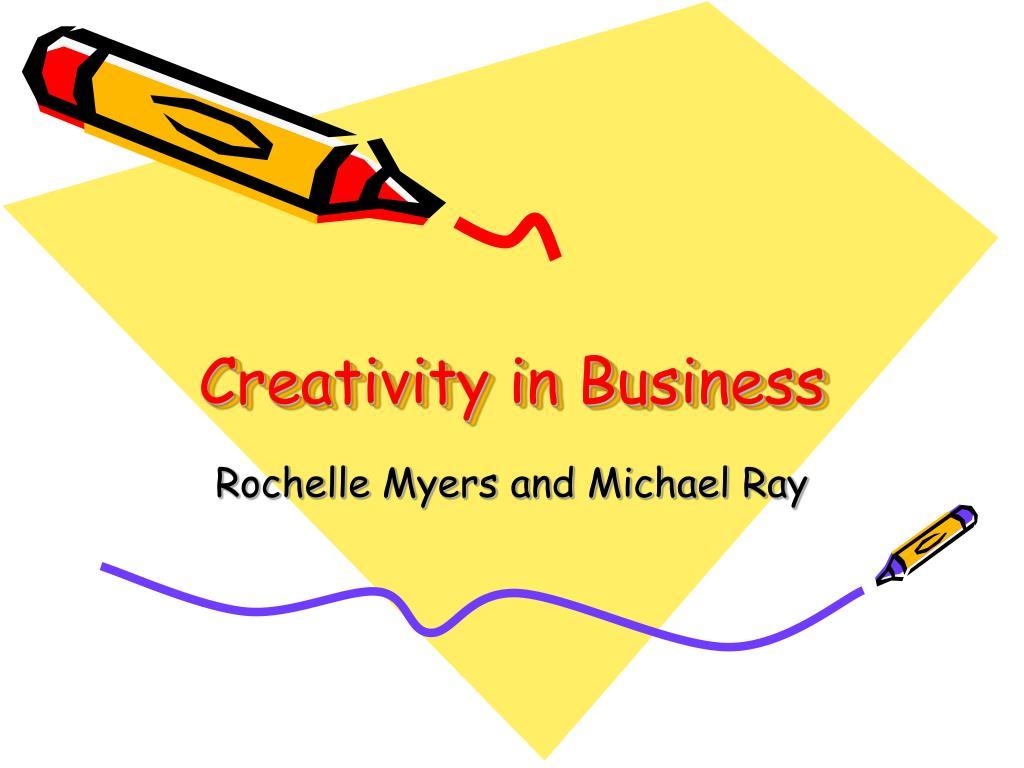 creativity in business l.