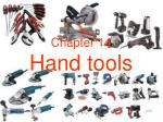 Chapter 14 Hand tools