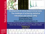 University of Pennsylvania 5th Annual Conference on Statistical Issues in Clinical Trials: Emerging Statistical Issues i