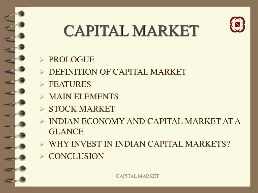capital market l.