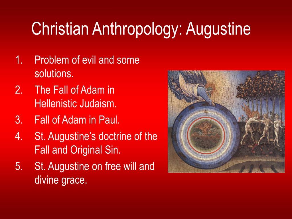christian anthropology augustine l.