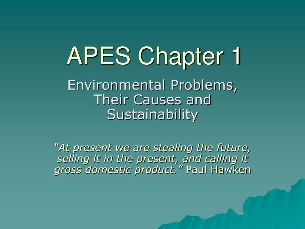 apes chapter 1 l.