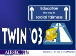 Education - the way to social fairness