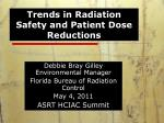 Trends in Radiation Safety and Patient Dose Reductions