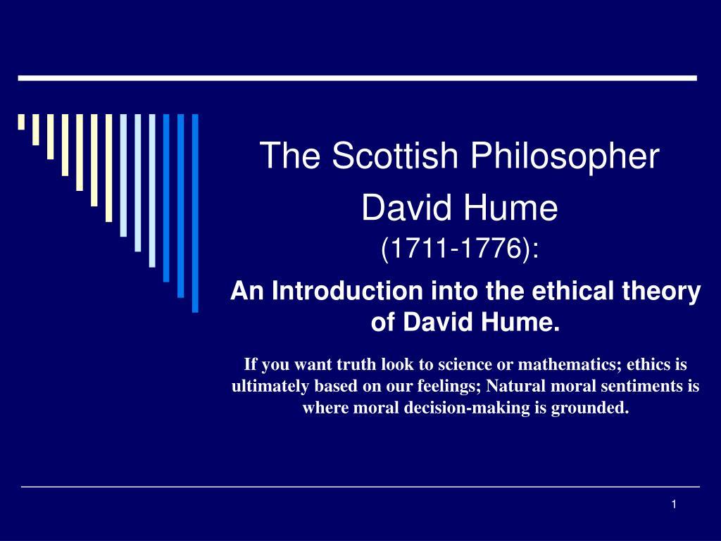 the scottish philosopher david hume 1711 1776 l.