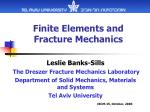 Finite Elements and Fracture Mechanics