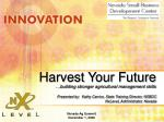 Harvest Your Future