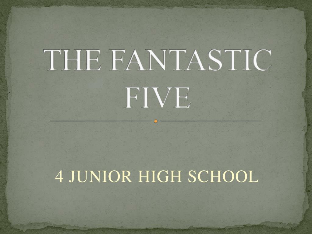 the fantastic five l.