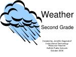 Weather Second Grade