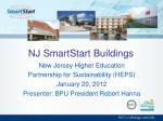 NJ SmartStart Buildings