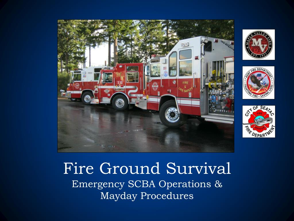 fire ground survival emergency scba operations mayday procedures l.