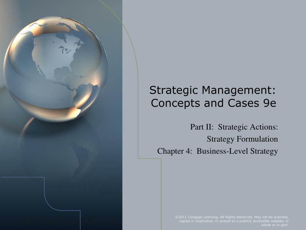 strategic management concepts and cases 9e l.