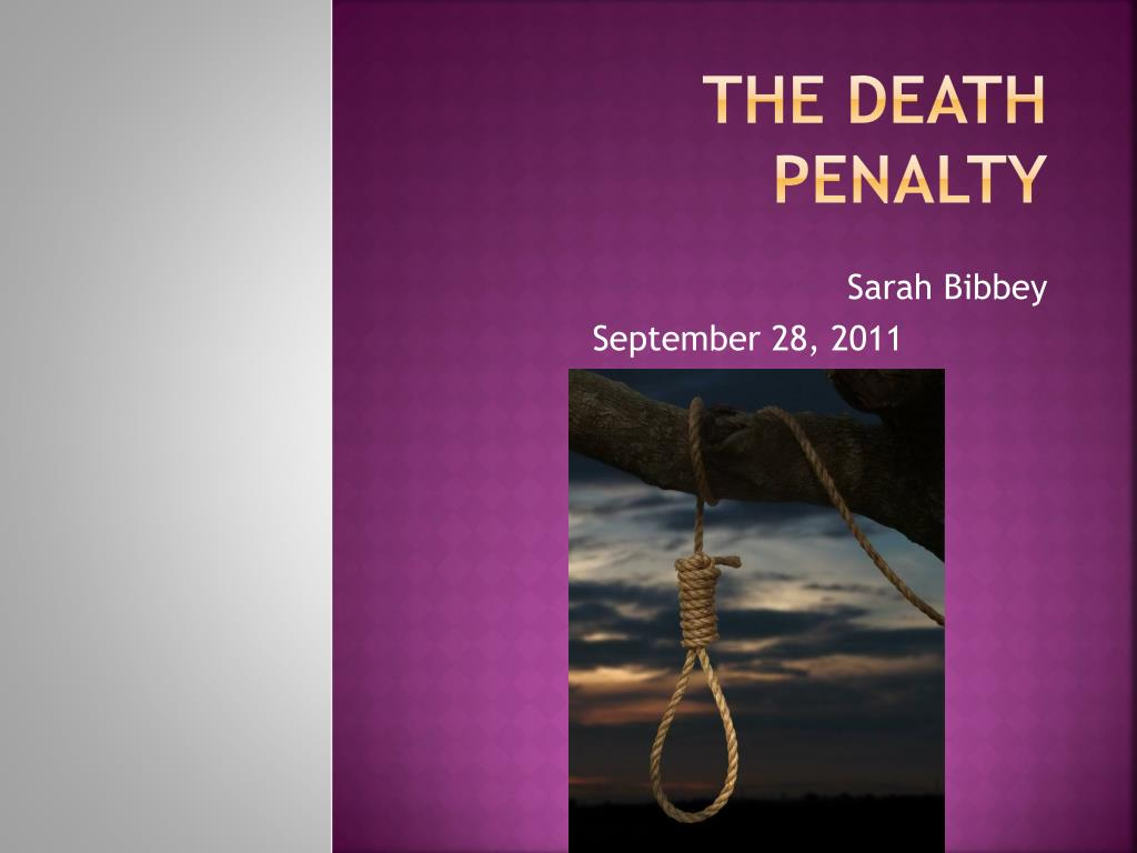 the death penalty l.
