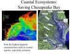 Coastal Ecosystems: Saving Chesapeake Bay