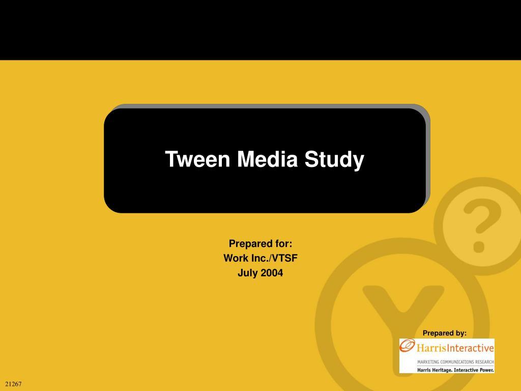tween media study l.