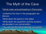 The Myth of the Cave