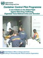 United Nations Office on Drugs and Crime working in Partnership with World Customs Organization