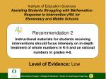 Institute of Education Sciences Assisting Students Struggling with Mathematics:  Response to Intervention (RtI) for  Ele