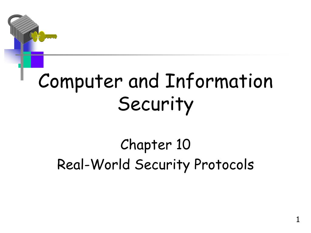 computer and information security l.
