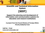 Scientific and Technical Information System