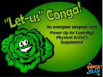 An energizer adapted from Power Up for Learning! Physical Activity Supplement