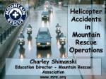 HelicopterAccidents  in  Mountain Rescue Operations